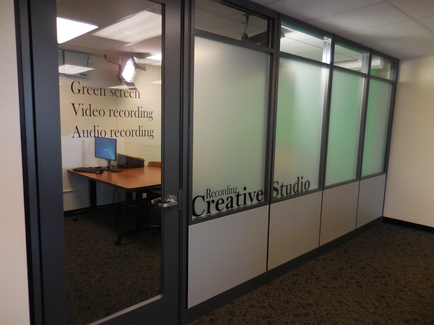 Groovy Recording And Presentation Studio Edmon Low Creative Studios Largest Home Design Picture Inspirations Pitcheantrous