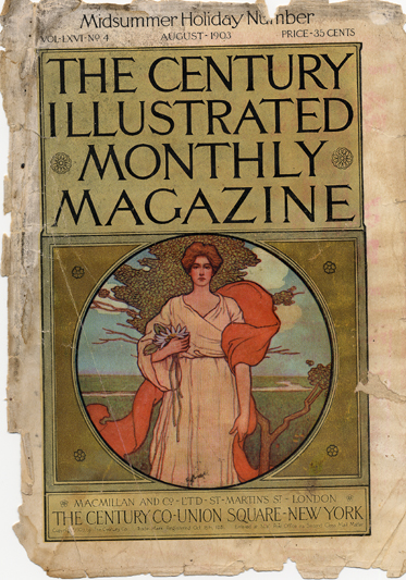 Image: Cover of The Century Illustrated Monthly Magazine