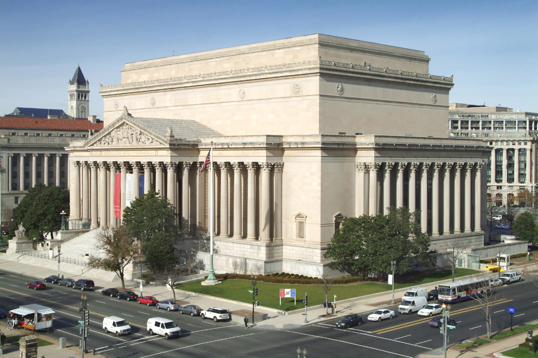 Image: The National Archives Building in Washington, D.C.