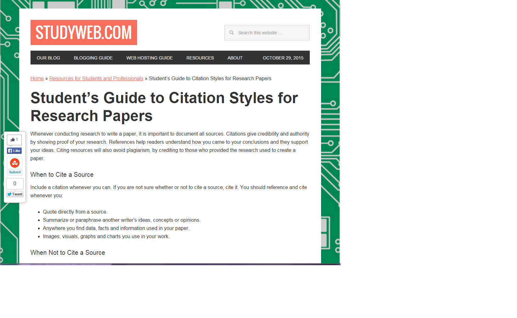 How To Cite A Quote From A Website How To Cite  Personal Project  Libguides At Canadian