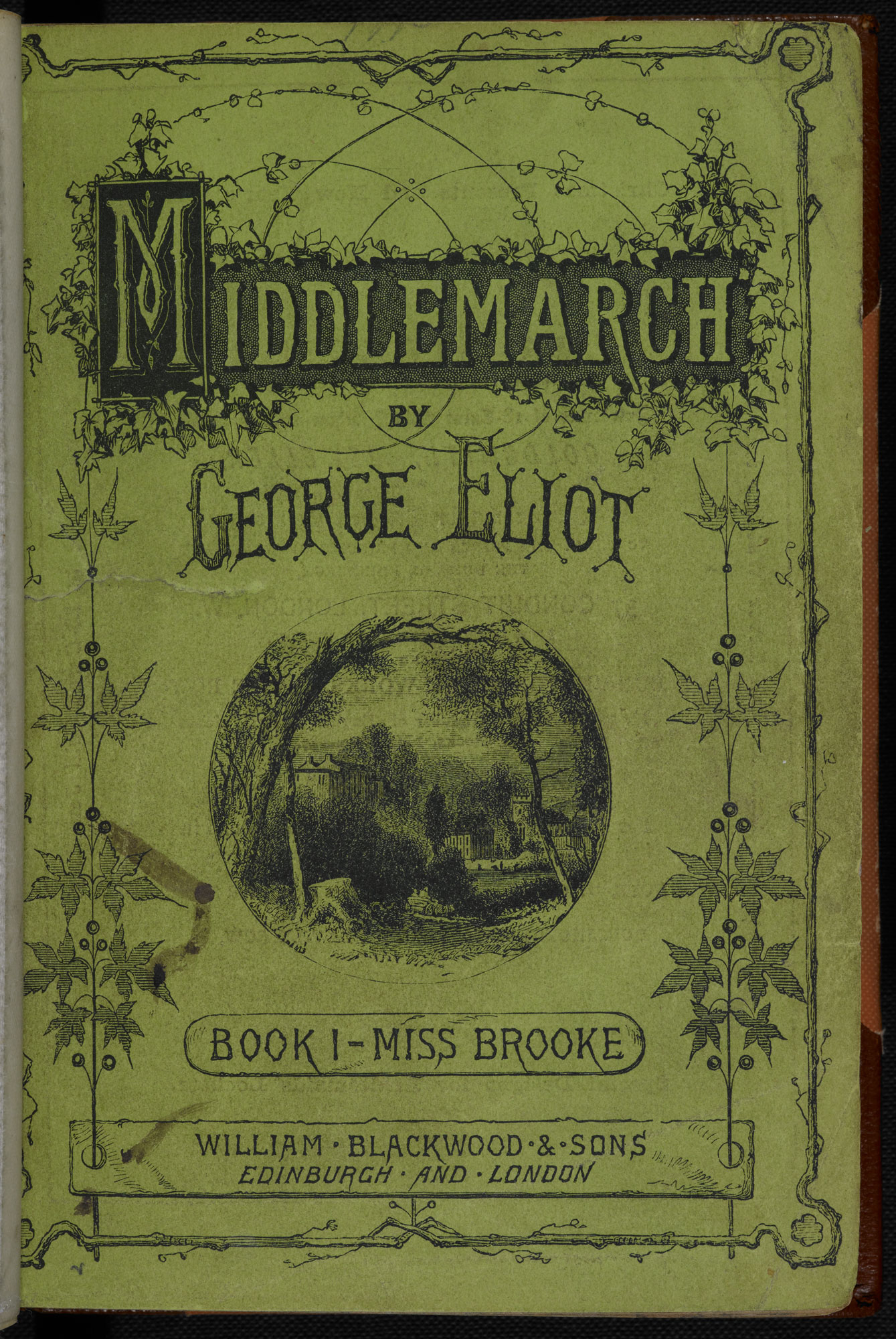 Middlemarch, Book 1, 1871