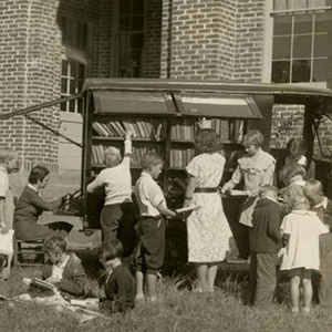 Children and Bookmobile