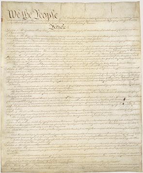 Image of the Declaration of Independence