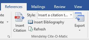 mendeley ms word plugin not working