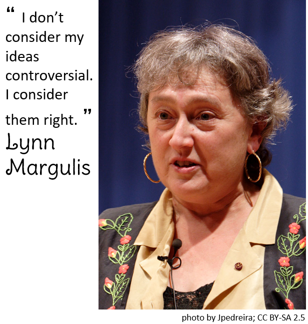 Lynn Margulis picture and quote