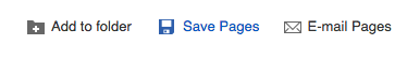 save pages icon