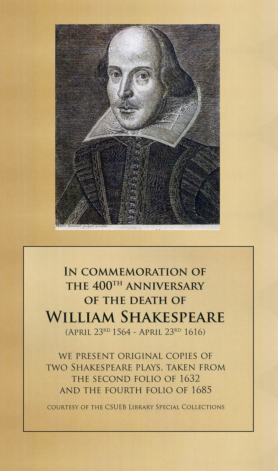 Home - 400th Anniversary of Shakespeare\'s Death - Exhibit ...