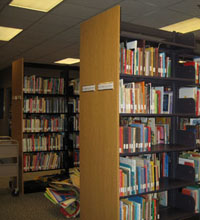 Juvenile section of Education Library