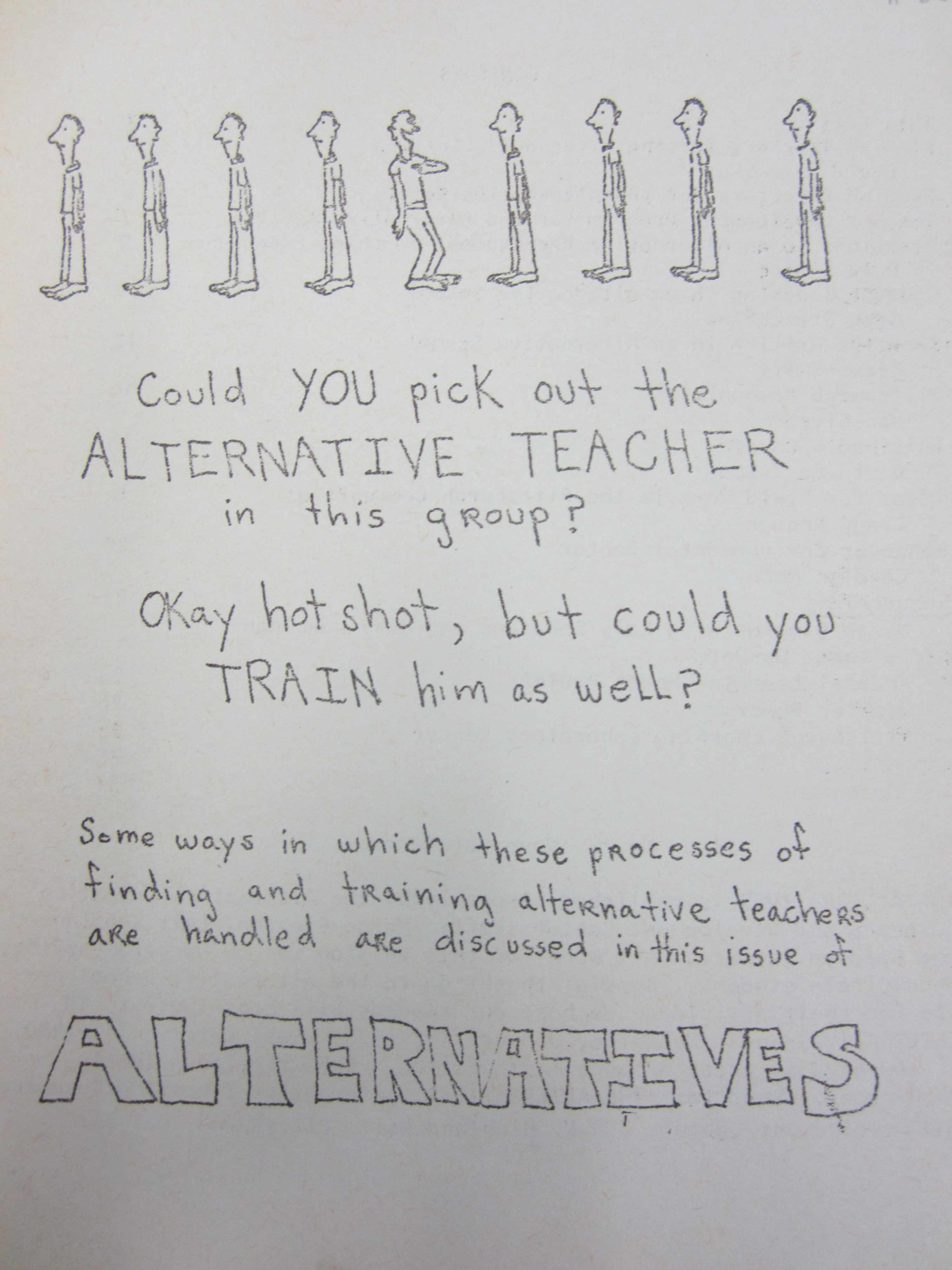 Cover of Issue 2 of Alternatives