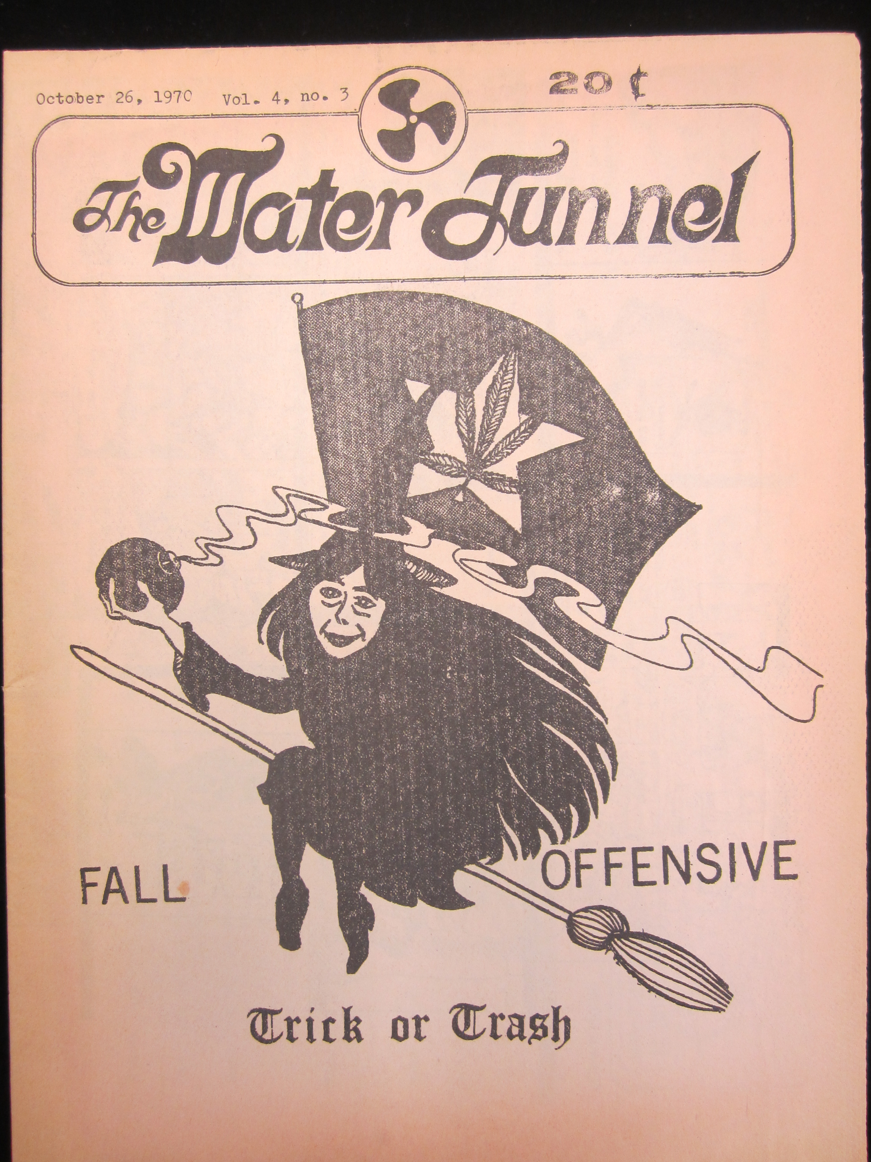 Cover of Vol. 4 No. 3 issue of The Water Tunnel