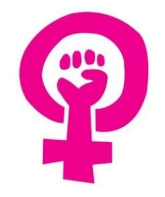 Feminist power fist