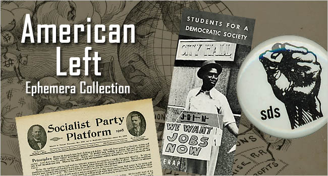 Logo of the American Left Ephemera Collection