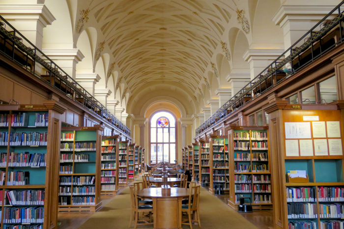 Gonville and Caius Upper Library