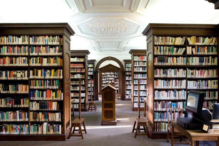 St Catharine's College Sherlock Library