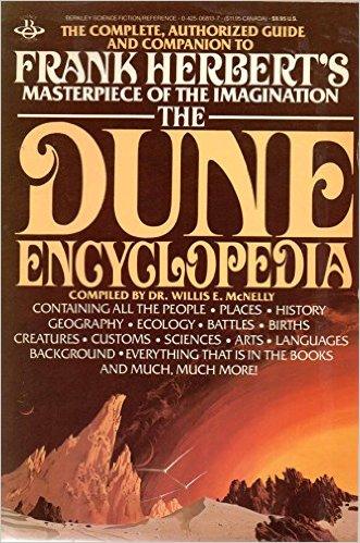 Dune Encyclopedia cover