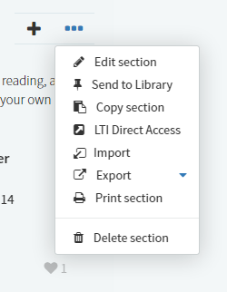 How to link to a specific Reading List section using LTI Direct Access.