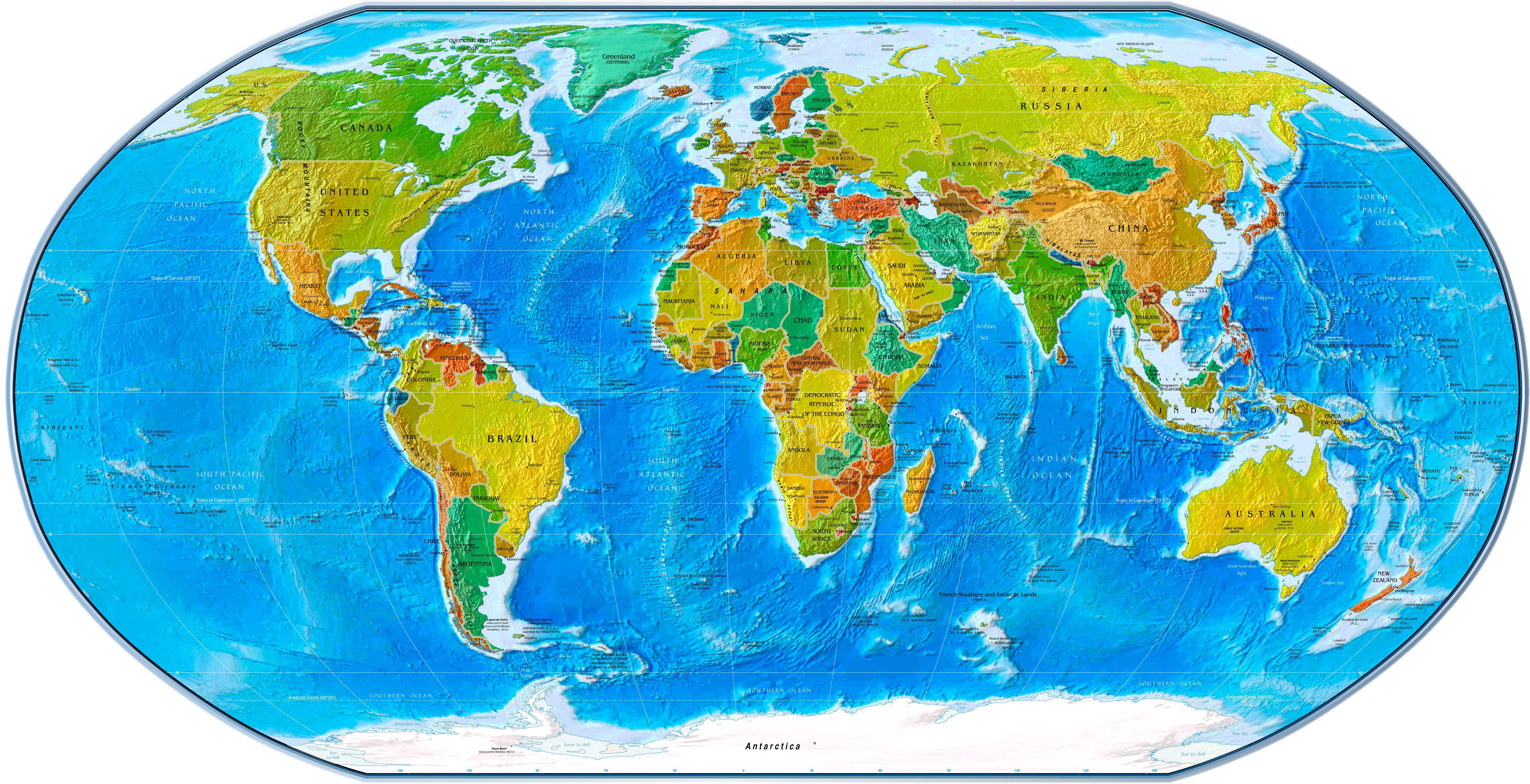 Appalachian World Map