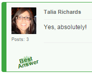 Discussion Boards Best Answers