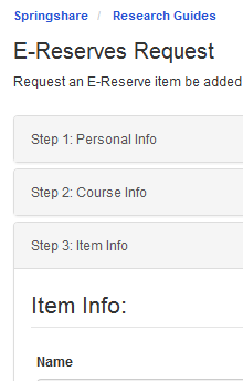 ereserves request form