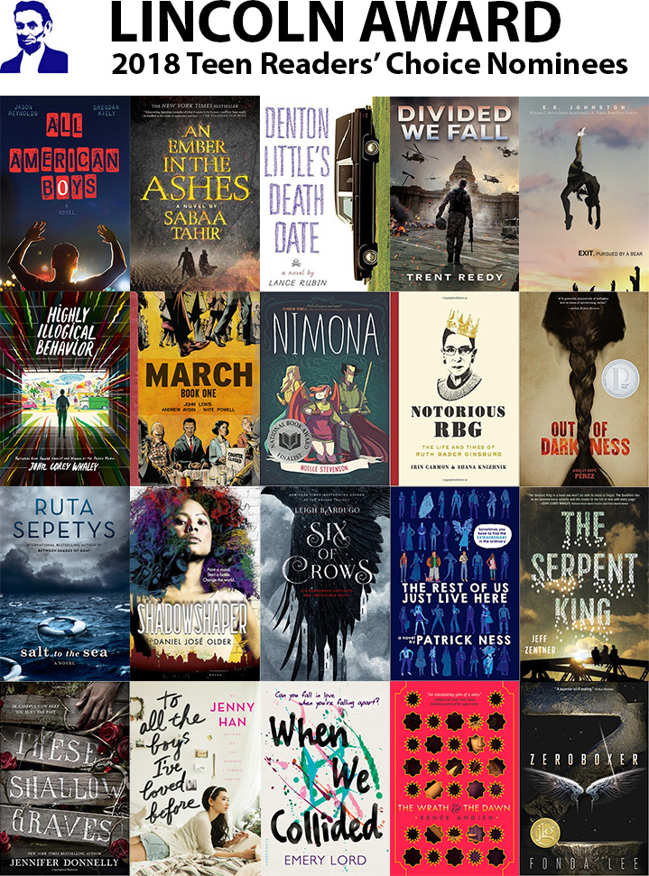 2018 lincoln award nominees.  lincoln more info about the 2018 nominees and lincoln award nominees l