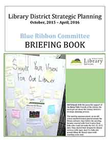 Cover for briefing book