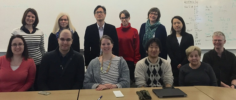 Photo of Group at Yuki Suzuki's presentation