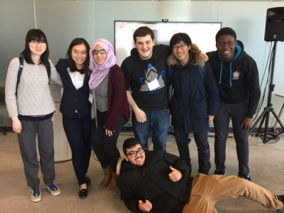 The winner of last weekend's UTSC Hackathon