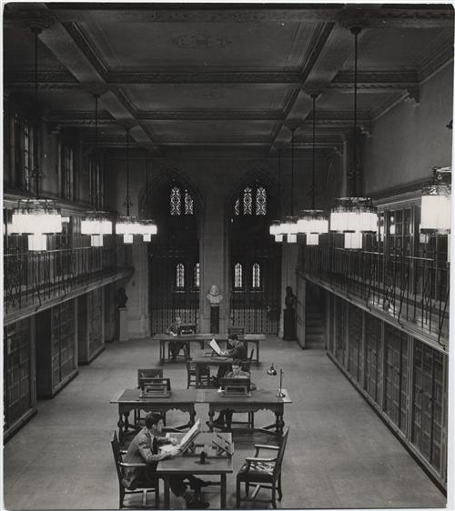 Sterling Memorial Library, Yale University, photographs, 1927-2003 (inclusive). Manuscripts & Archives, Yale University
