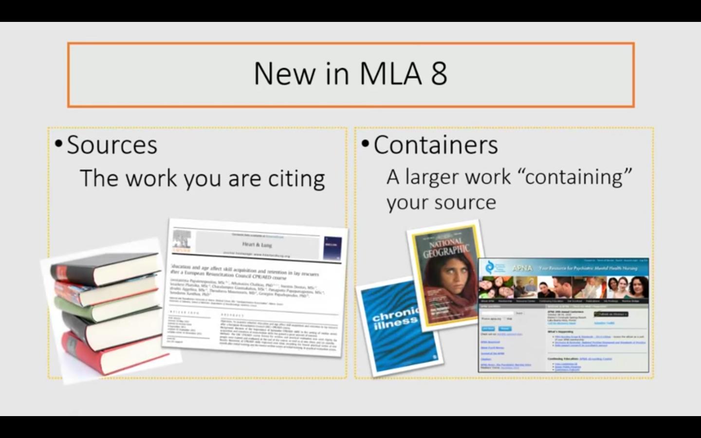 MLA Introduction