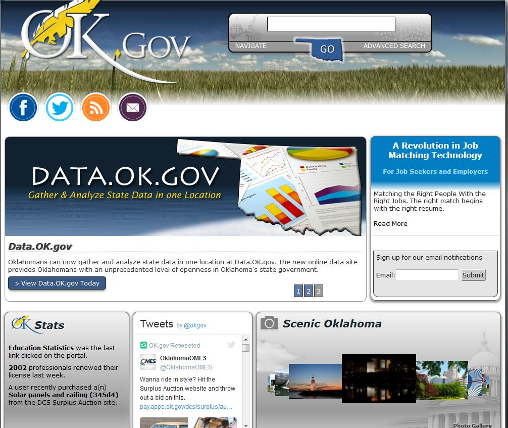 State of oklahoma jobs website