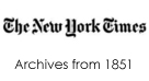 New York Times Archive from 1851