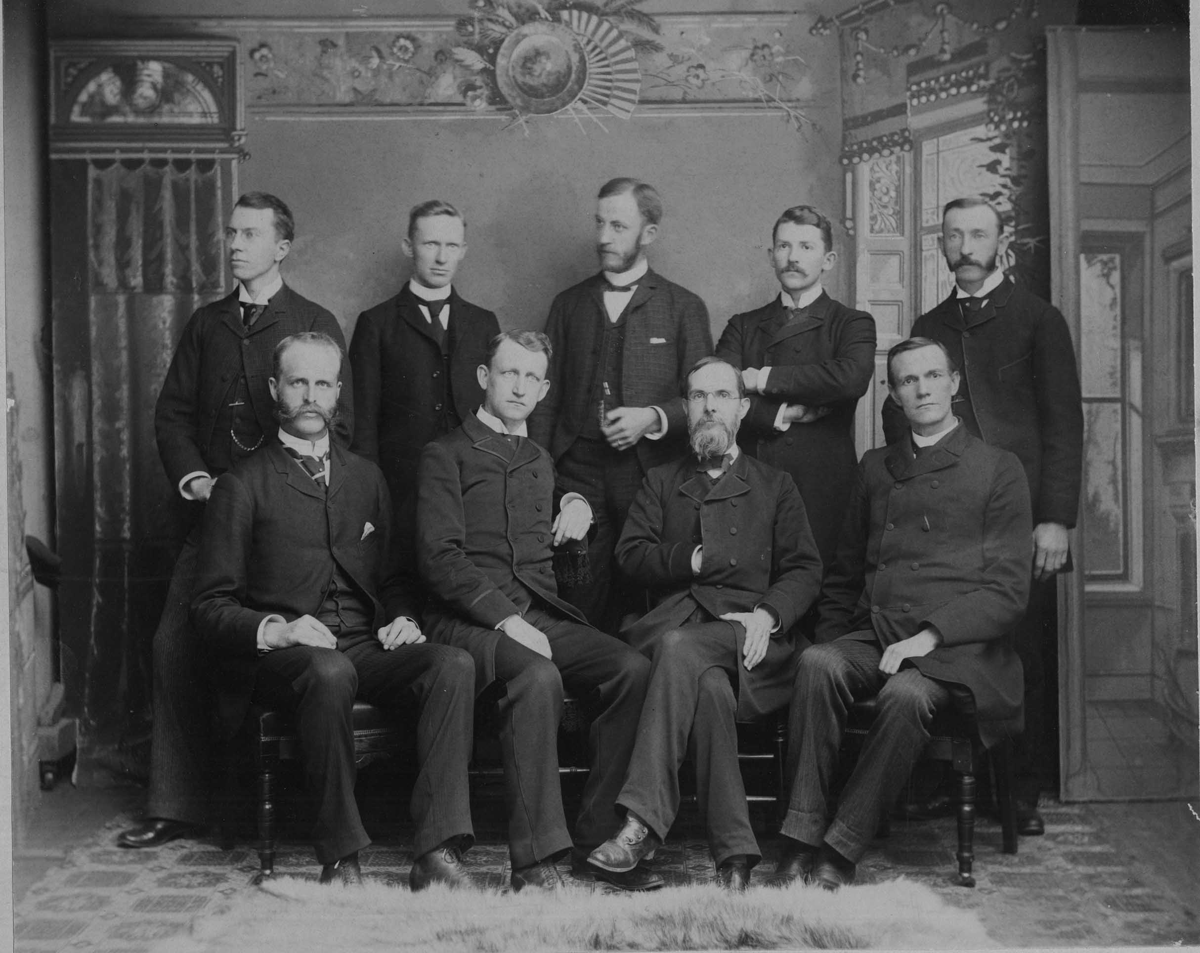 Male Faculty, 1890