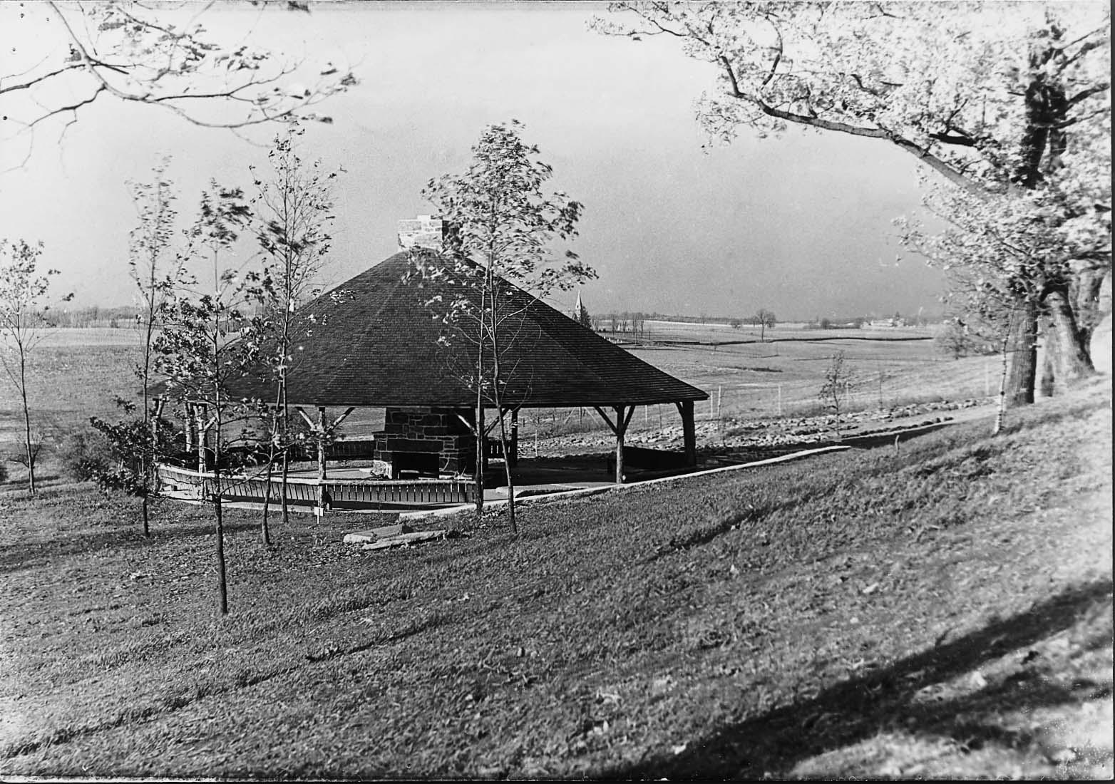 Harvey Stone Park Pavilion circa 1934