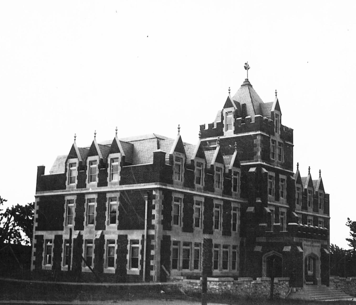 Elderdice Hall circa 1920