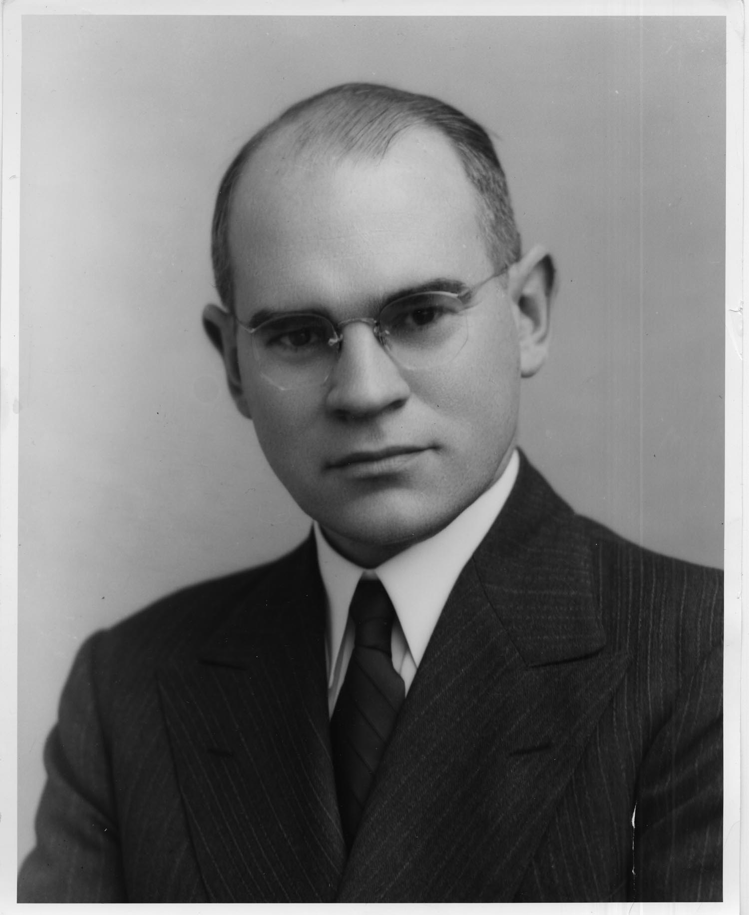 Fred G. Holloway circa 1936