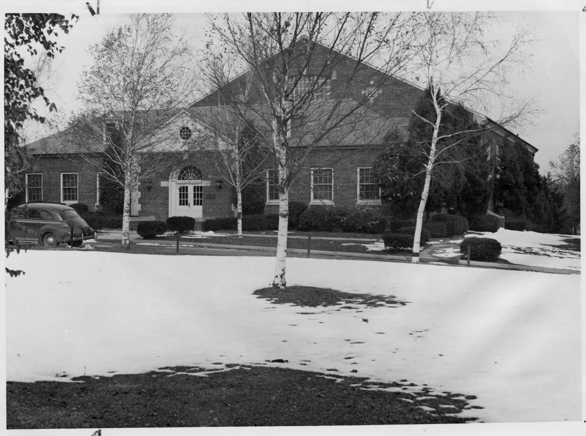 Gill Gymnasium circa 1950