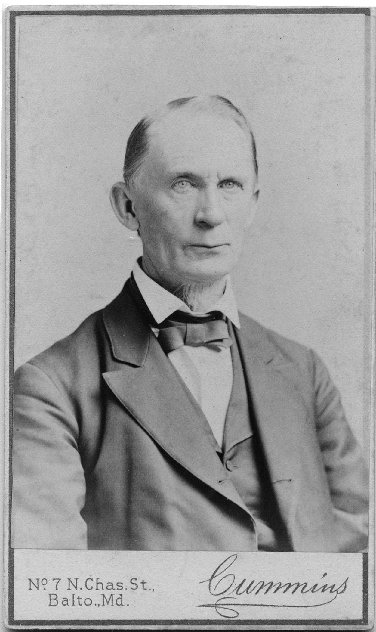 Photograph of James T. Ward