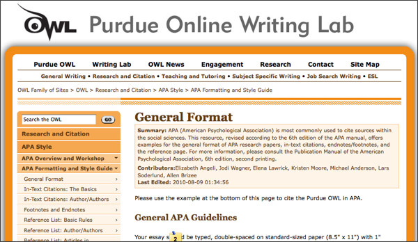 purdueowl Cse Standard Format Example on business letter email, cover letter for resume word, business memo, meeting minutes, legal letter, essay outline, letter heading, memorandum for bop, stage play,