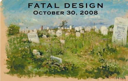 painting of Nantucket Cemetery