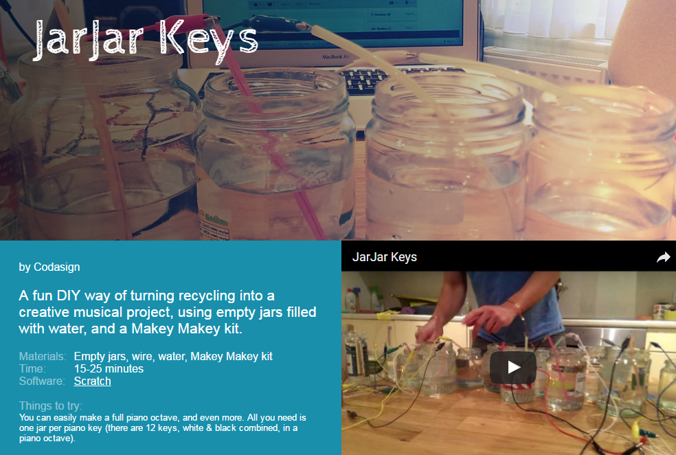 Example Projects - Makey Makey - LibGuides at Monroe 2