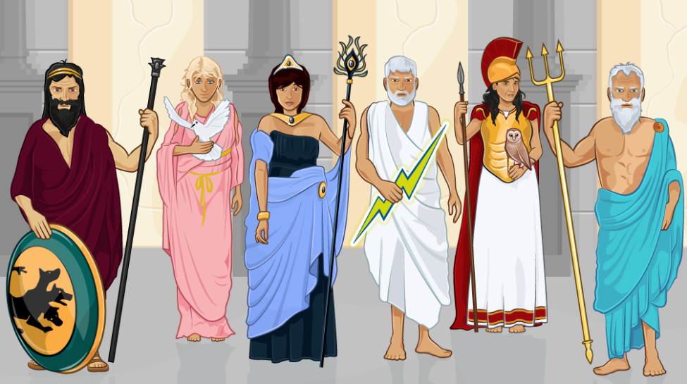 Home Greek Mythology Project Libguides At Madison
