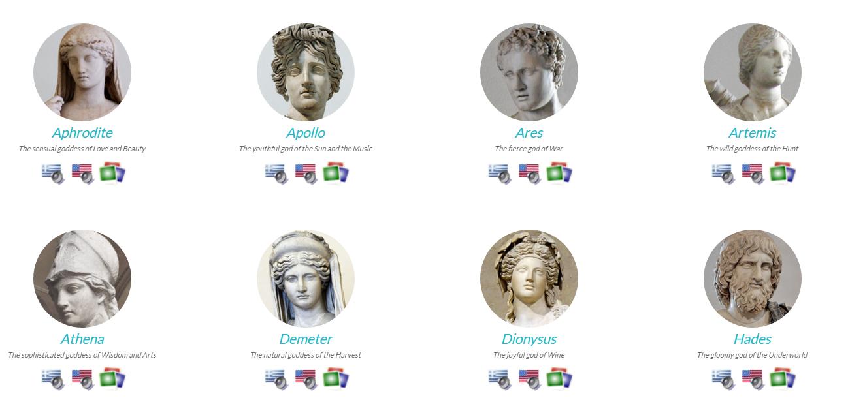 Step 4: Research & Read - Greek Mythology Project