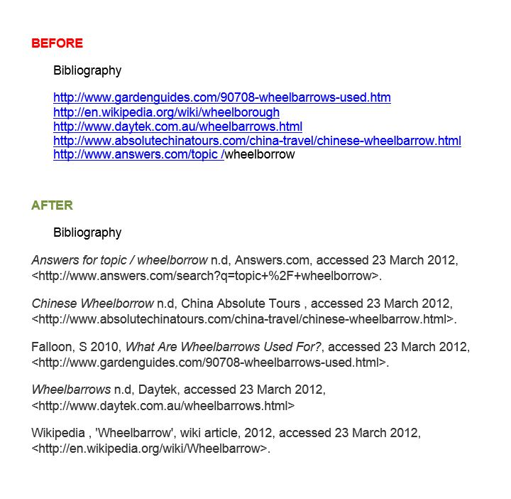 Bibliography online free