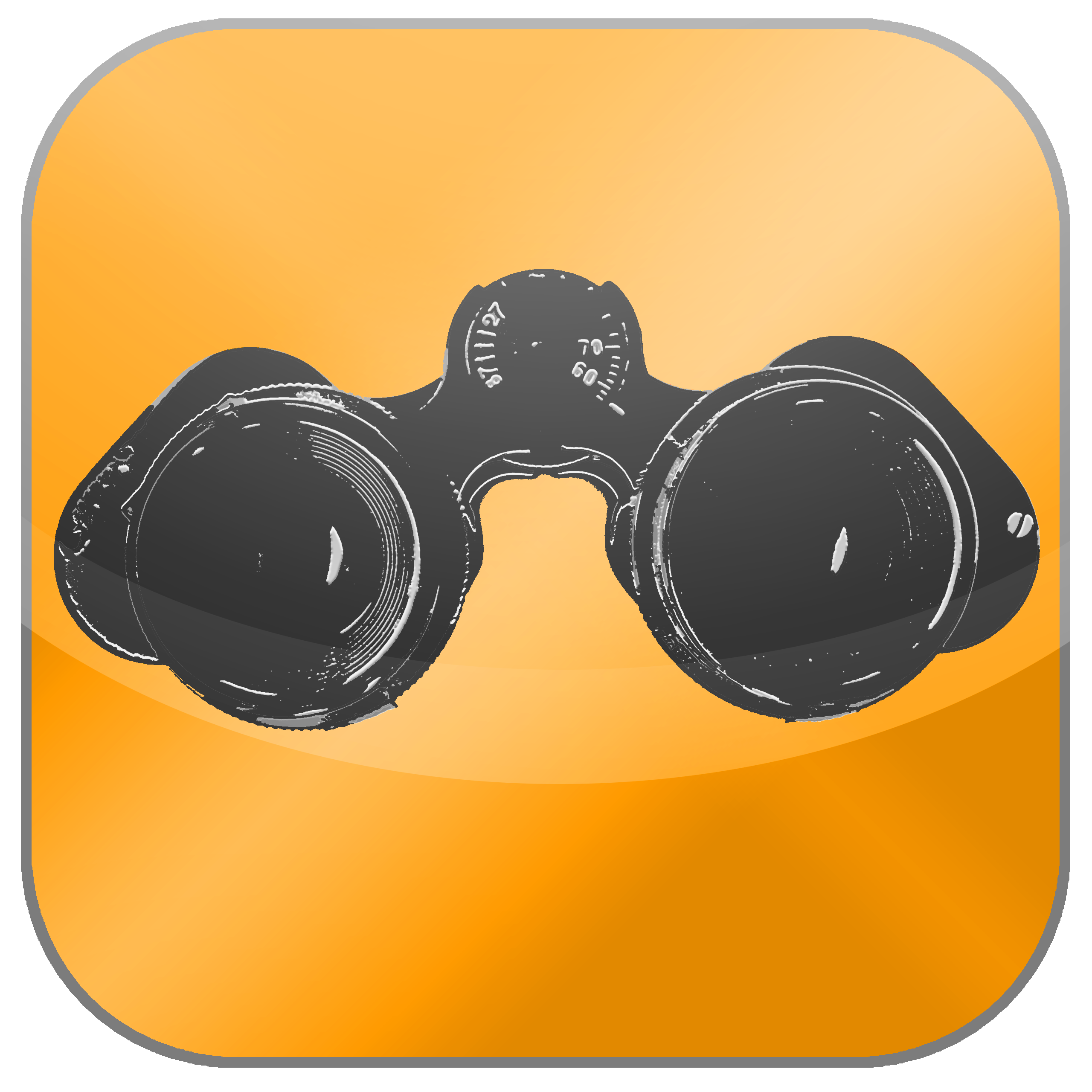 Advanced search icon - binoculars