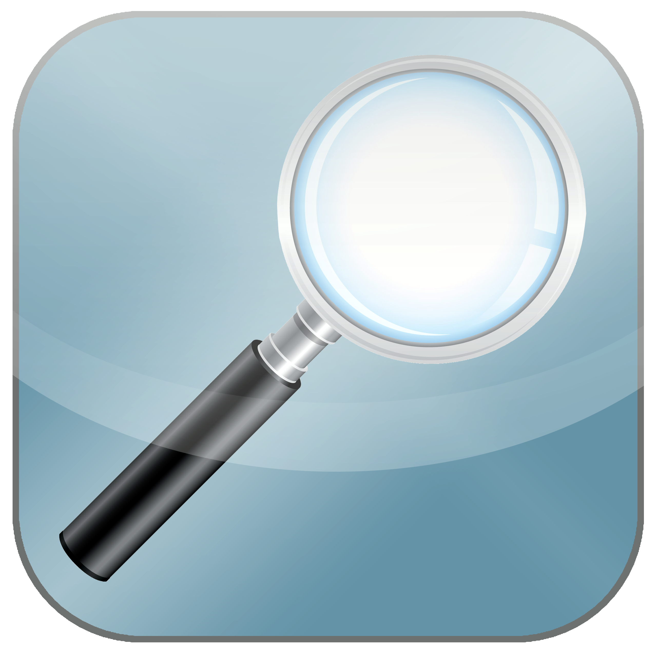 Basic search icon - magnifying glass