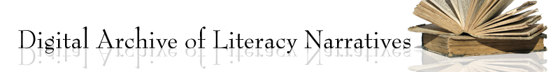 Digital Archive of Literacy Narratives header