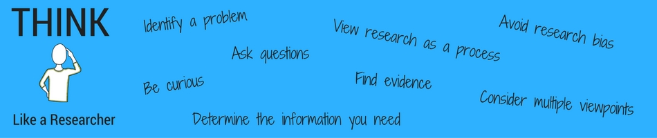 Think Like a Researcher graphic