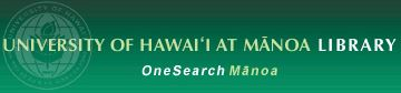 OneSearch Manoa