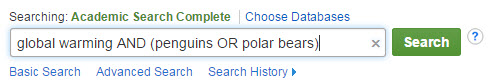 global wamring and penguins or polar bears