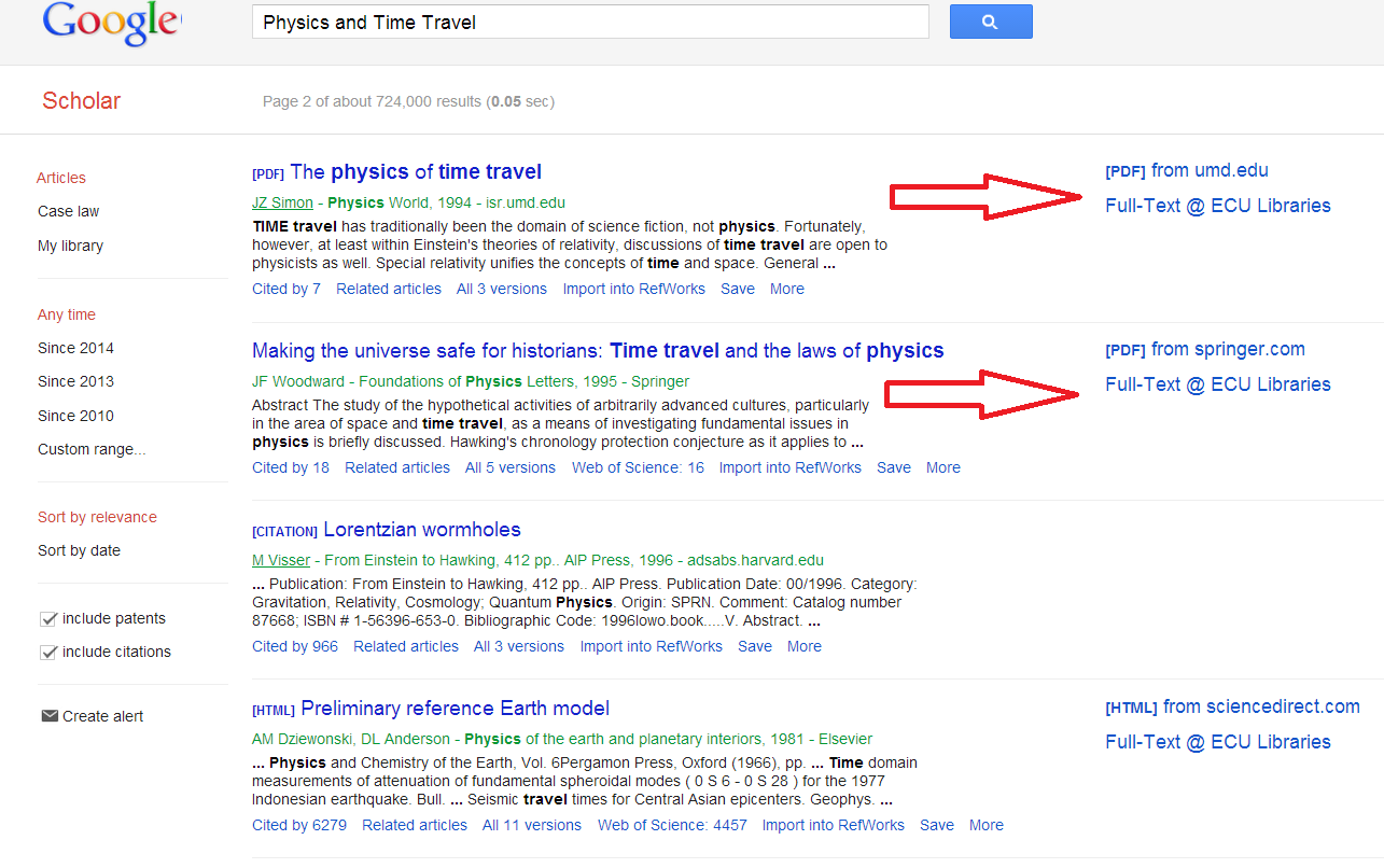 Using Google Scholar from Home - Google Scholar - Research Guides at